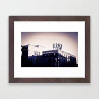 Arts On Broad Framed Art Print