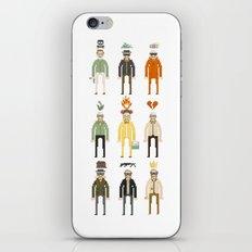 Walter White Pixelart Transformation- Breaking Bad iPhone & iPod Skin