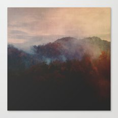 Burning Within Canvas Print