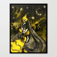 Golden Age of Decadence Canvas Print