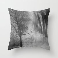 Lost soul Throw Pillow
