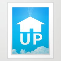 Up Poster Art Print