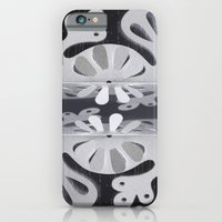 iPhone & iPod Case featuring Paper Cut Double Dream by Anabel B