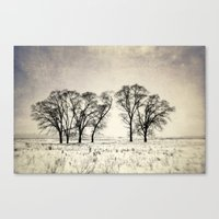 Dark Winter Days Canvas Print