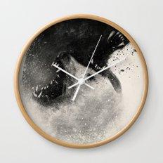 Polar Opposites  Wall Clock