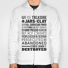 Jars of Clay. 2 Corinthians 4:7-9. Hoody