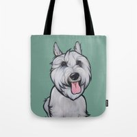 Levi The Miniature Schna… Tote Bag