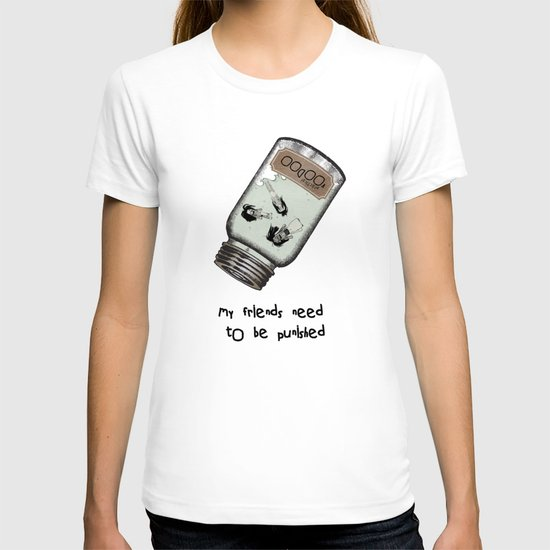 My Friends Need to Be Punished (inspired by Lilo and Stich) T-shirt