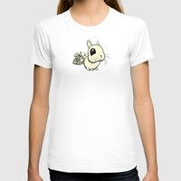 Bunny Womens Fitted Tee White SMALL