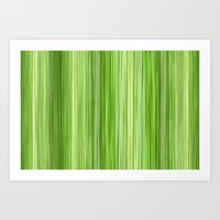 Ambient 3 In Lime Green Art Print