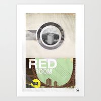 The RED Project Coming S… Art Print