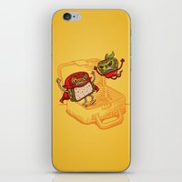 Lunchadores iPhone & iPod Skin