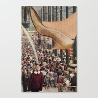 Crushing the Little Bugs Canvas Print