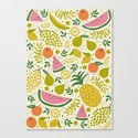 Fruit Mix Canvas Print