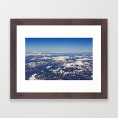Colorado from Above Framed Art Print