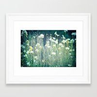 Framed Art Print featuring Summer Dreams by Shawn King