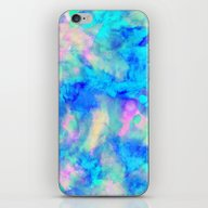 iPhone & iPod Skin featuring Electrify Ice Blue by Amy Sia