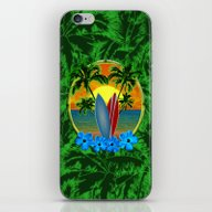 Sunset Surfboards And Pa… iPhone & iPod Skin