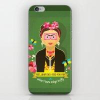 Frida  iPhone & iPod Skin