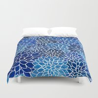 Floral Abstract 14 Duvet Cover