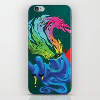 These Ghosts They Know Me iPhone & iPod Skin