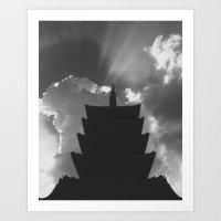 Sensō-ji Art Print