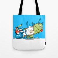 You Cannot Escape Love. Tote Bag