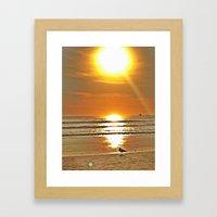 Birt Framed Art Print