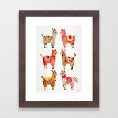 Alpacas Framed Art Print
