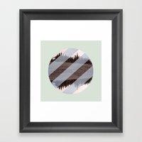 Banana Hammock  Framed Art Print