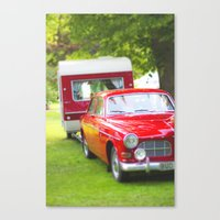 Let's Go Camping Canvas Print