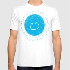 Big smile like sunshine Mens Fitted Tee White SMALL