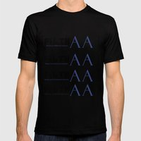 bracketed +inglis Mens Fitted Tee Black SMALL