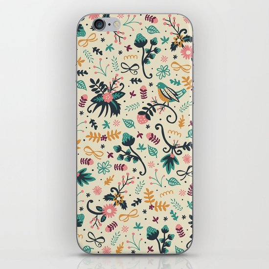Deck the Halls iPhone & iPod Skin