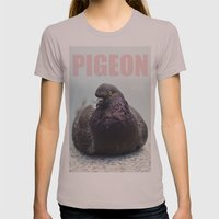 Pigeon Womens Fitted Tee Cinder SMALL