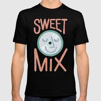 Sweet Mix Mens Fitted Tee Black SMALL