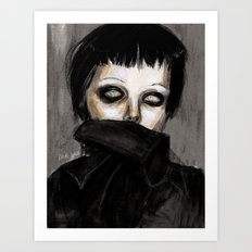 Alice glass 2013 unpublished  Art Print