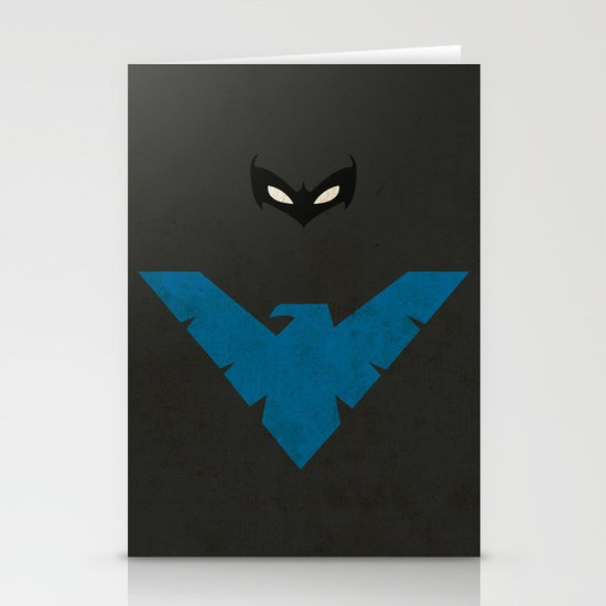 Nightwing Stationery Card