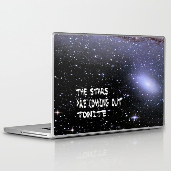 the stars are coming out tonite  U.S. Laptop & iPad Skin