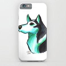 Brush Breeds-Siberian Husky iPhone 6 Slim Case
