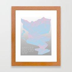 Chemistry in Repetition Framed Art Print