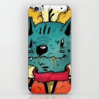 Wolfy (Color Version) iPhone & iPod Skin