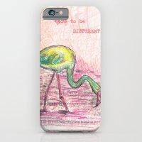 Dare to be different, Flamingo iPhone 6 Slim Case