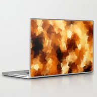 Cubist Fire Laptop & iPad Skin