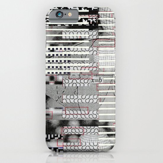 Vulnerability Commerce (P/D3 Glitch Collage Studies) iPhone & iPod Case