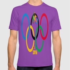 RIO 2016 Mens Fitted Tee Ultraviolet SMALL