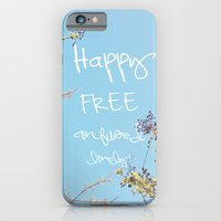 Above All, Be Happy iPhone 6 Slim Case