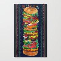 Grandwich Canvas Print