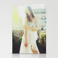 A Golden Summer's End Stationery Cards