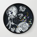 SKATE INVADERS Wall Clock